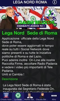 Lega Nord Roma poster