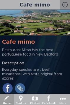 Cafe mimo poster