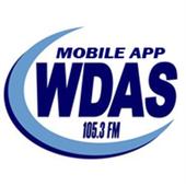 105.3 WDAS icon