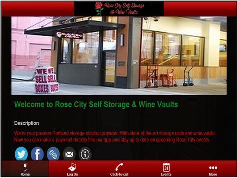 Rose City Self Storage poster