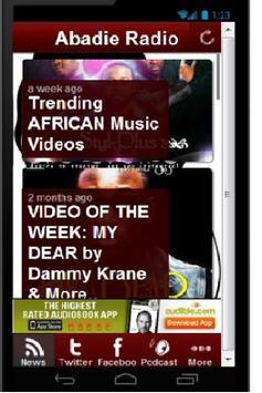 Abadie Radio-Hip African Music poster
