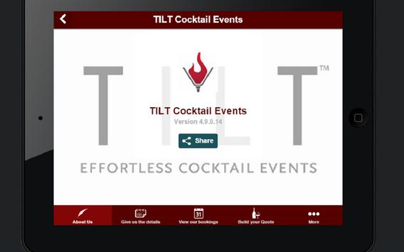 TILT Cocktail Events screenshot 3