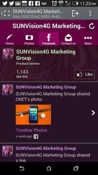SUNVision4G Marketing GRP apk screenshot