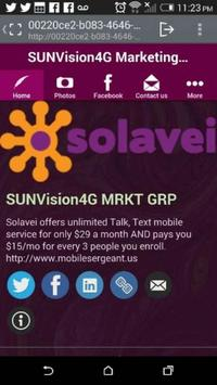 SUNVision4G Marketing GRP poster