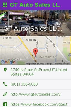 GT Auto Sales apk screenshot
