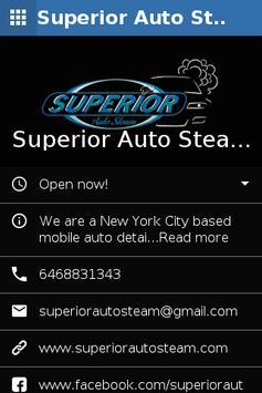 Superior Auto Steam poster