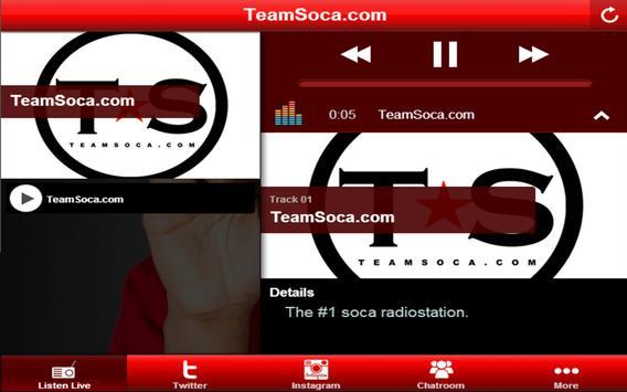 Team Soca. screenshot 1