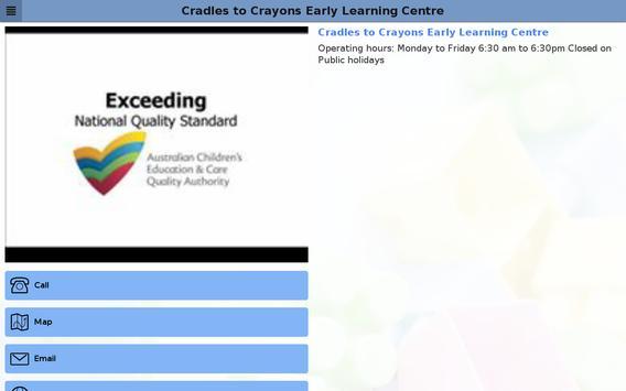 Cradles to Crayons apk screenshot