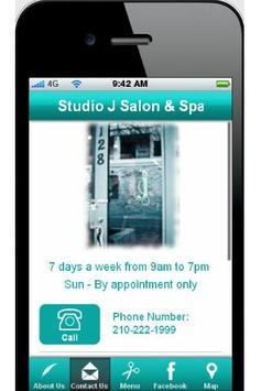 Studio J the Salon & Spa apk screenshot