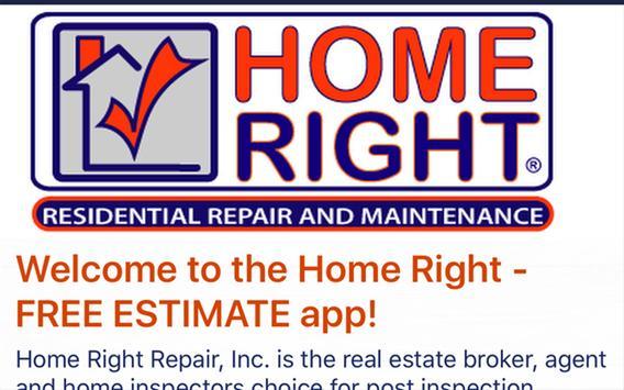 Home Right Repair ESTIMATE screenshot 3