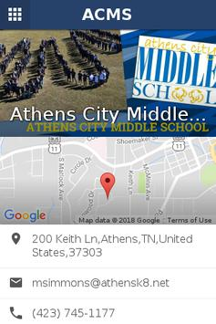 Athens City Middle School screenshot 1