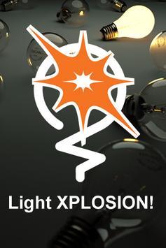 Light XPLOSION poster