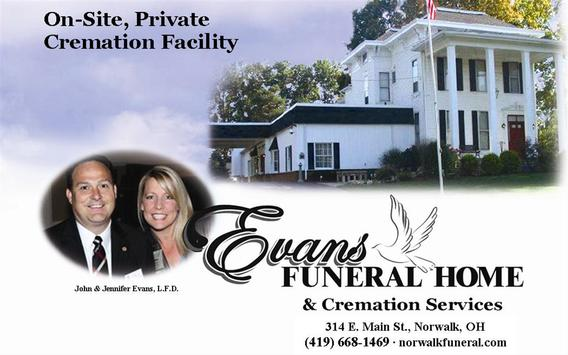 Evans Funeral Home screenshot 1