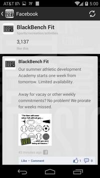 BlackBenchFit screenshot 4