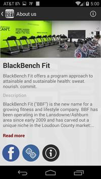 BlackBenchFit screenshot 2