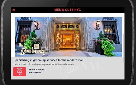 Men's Cuts NYC screenshot 4