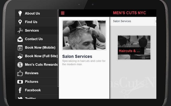 Men's Cuts NYC screenshot 5