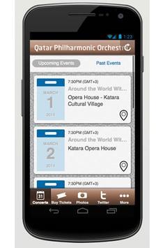 Qatar Philharmonic Orchestra poster