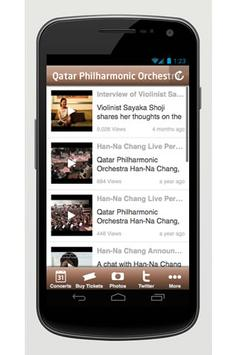Qatar Philharmonic Orchestra screenshot 1