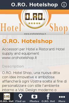 O.RO. Hotelshop poster