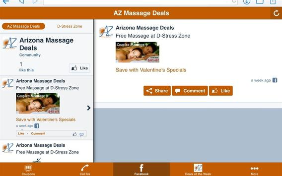 AZ Massage Deals screenshot 5