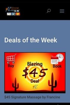 AZ Massage Deals screenshot 1