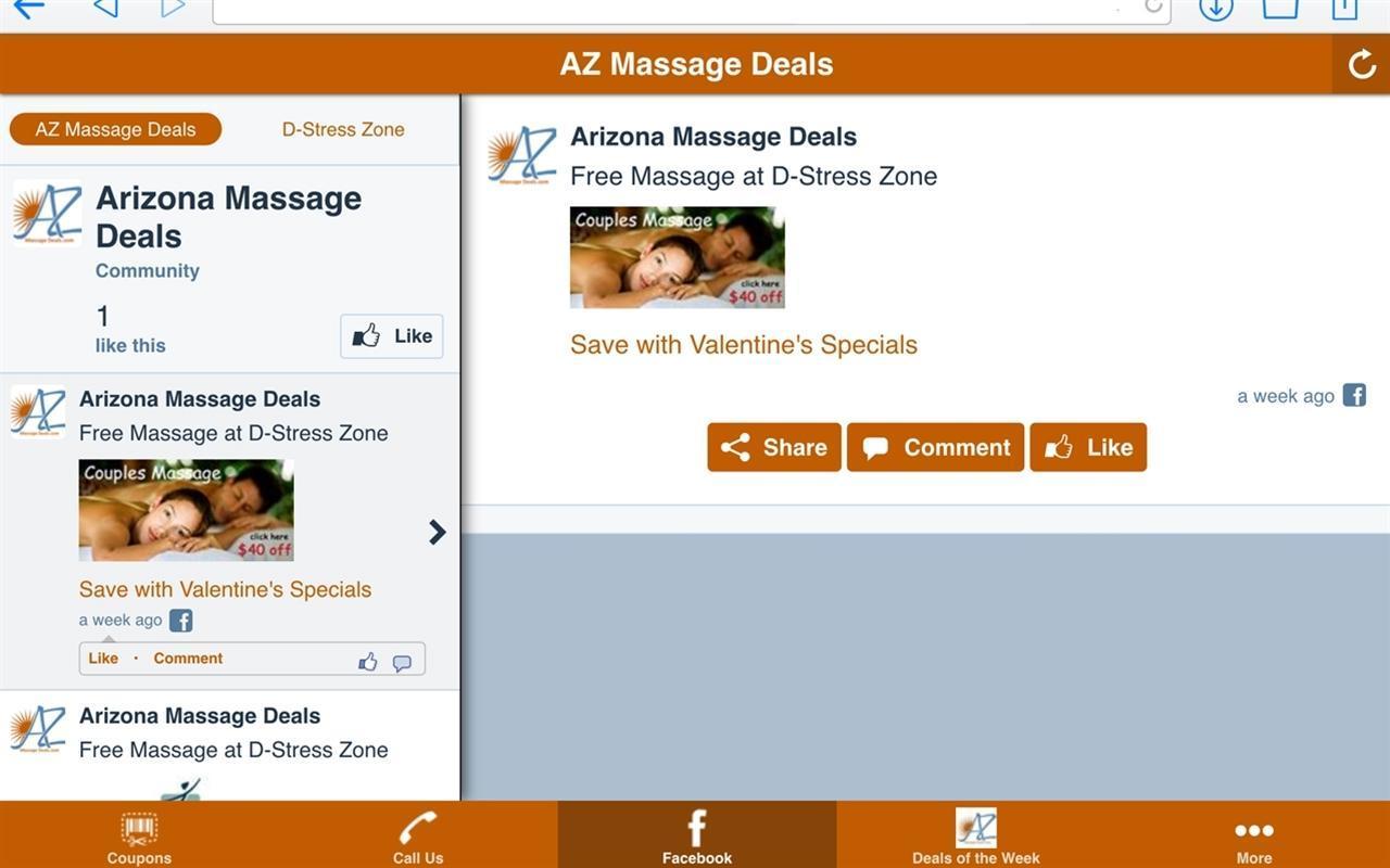 AZ Massage Deals poster