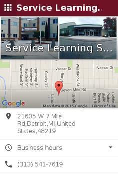 Service Learning District apk screenshot