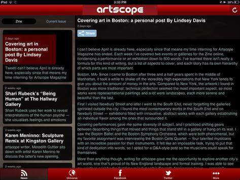 Artscope screenshot 5