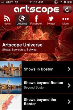 Artscope screenshot 1