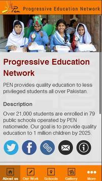 Progressive Education Network poster
