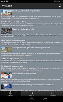 Nya Åland Nyheter poster