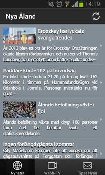 Nya Åland Nyheter apk screenshot