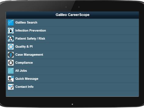 Galileo Career Scope poster