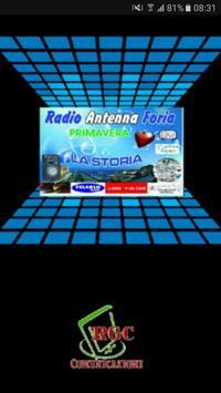 Radio Antenna Foria Web poster