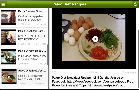 Paleo Diet Recipes screenshot 4