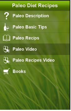 Paleo Diet Recipes poster