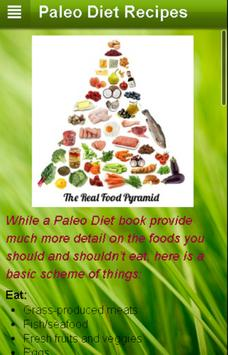 Paleo Diet Recipes screenshot 1
