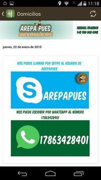 ArepaPues apk screenshot