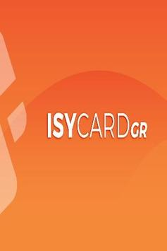 ISYCARD GR poster