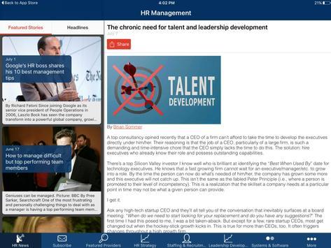 HR Management apk screenshot