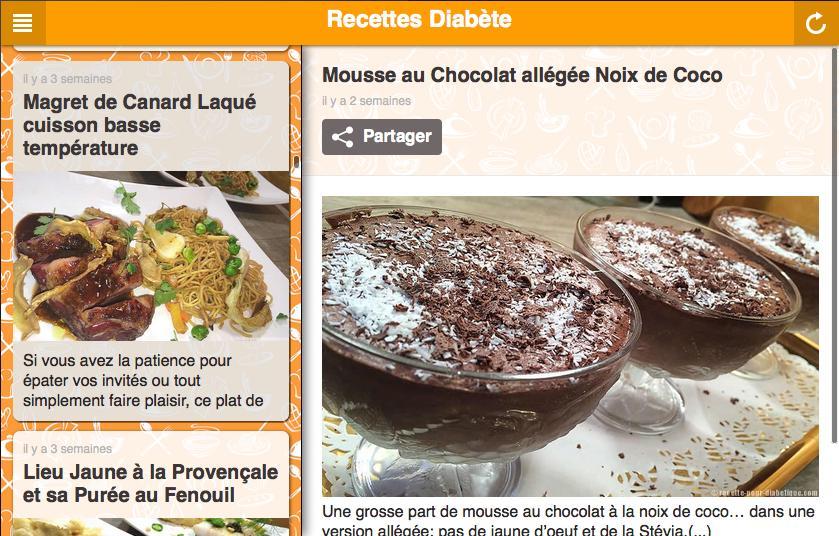 Recettes Pour Diabetiques For Android Apk Download