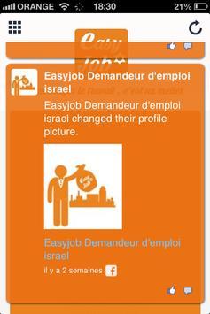 Easy Job israel screenshot 4