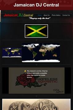 Jamaican DJ Central poster