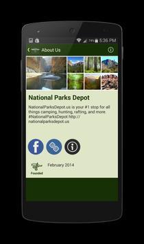 National Parks Depot poster