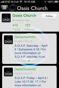 Oasis Church apk screenshot