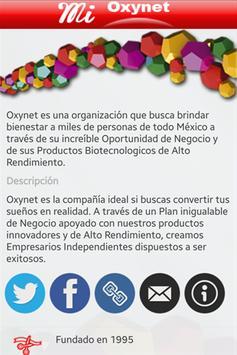Mi Oxynet poster