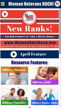 Women Veterans ROCK! New Ranks poster