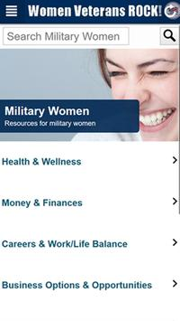 Women Veterans ROCK! New Ranks screenshot 1