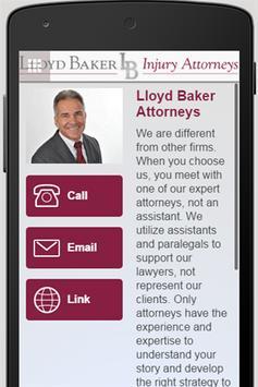 Lloyd Baker's Heavy Hitter App apk screenshot